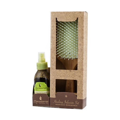 macadamia healing oil spray & oil infused brush
