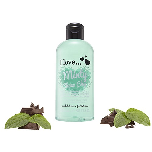 I love Revitalizing shower gel Minty