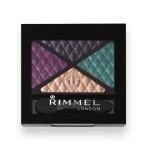 Rimmel London Glam Eyes Quad Eye Shadow 014-Bold-Behaviour