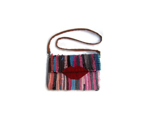Maslinda Designs Lippy Boho Chic Kilim Bag