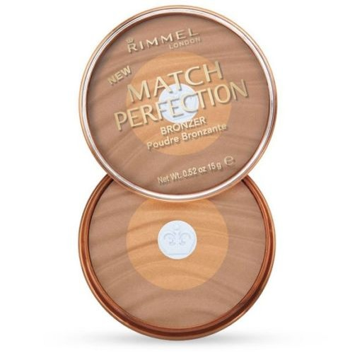 Rimmel London Match Perfection Bronzer Powder 002