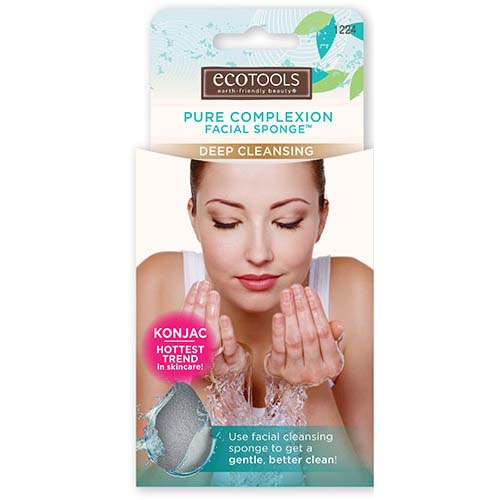 EcoTools - Pure Complexion Facial Sponge, Deep Cleansing 2
