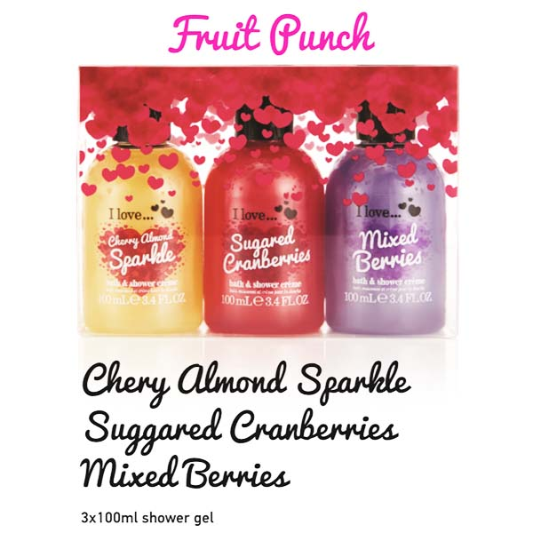 Fruit Punch Cherry Almnd Sparkle Suggared Cranberries Mixed Merries
