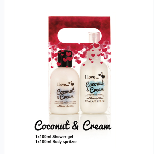 I Love... Delicious Duo Pack Coconut & Cream